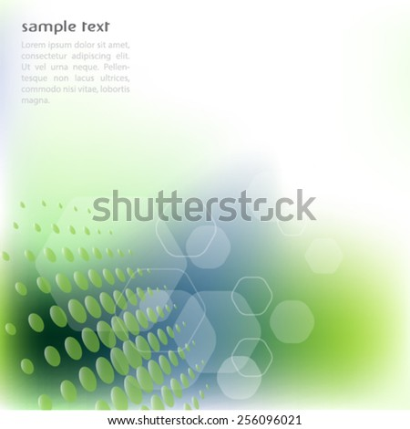 Abstract background illustration.Vector. - stock vector