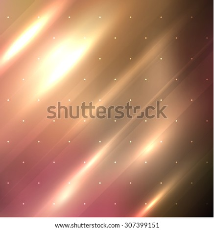 Abstract background in autumn color scheme with bright stripes in diagonal direction. Vector eps10. - stock vector
