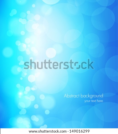 Abstract background in blue color - stock vector