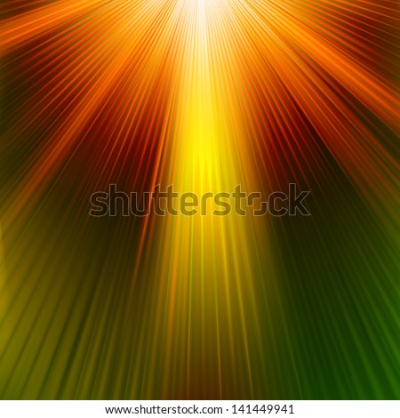 Abstract background in orange tones. EPS 10 vector file included - stock vector