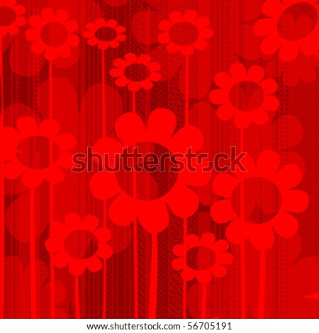 Abstract background in reds, vector