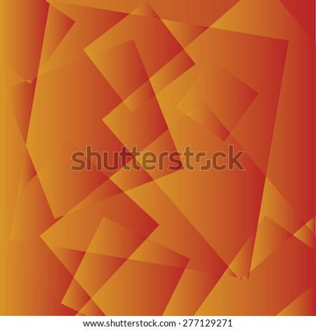 Abstract background in the style of cubism. Vector background / Abstract retro vintage cubism illustration - stock vector