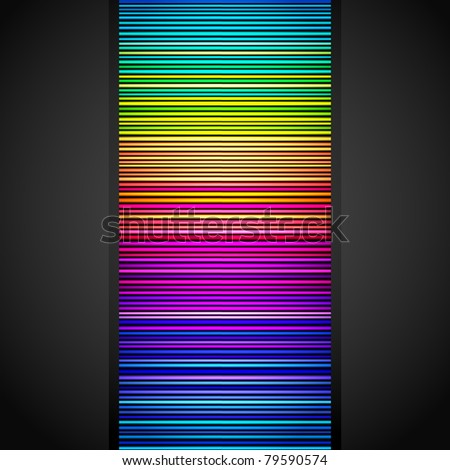 Abstract background made of colorful pattern - stock vector