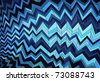 Abstract background made of zigzag striped pattern - stock vector
