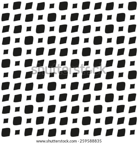 Abstract background. Monochrome black and white vector. - stock vector