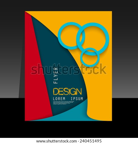 Abstract background of colored paper for brochures, flyers, books, albums, booklets, leaflets, posters, for design business cards, postcards, covers, advertising, magazine, vector - stock vector