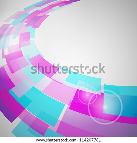Abstract Background of geometric elements. Vector illustration.