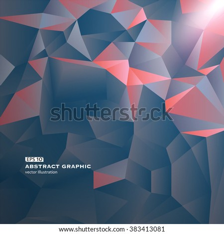 Abstract background of geometric patterns. - stock vector