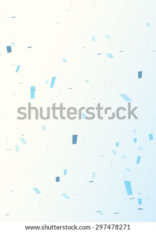 Abstract background of geometric shapes - stock vector
