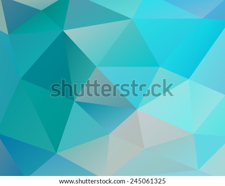 Abstract background of triangular polygons. Eps 10. Vector illustration. - stock vector