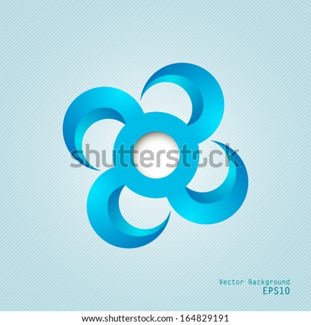 Abstract background or logo template. - stock vector