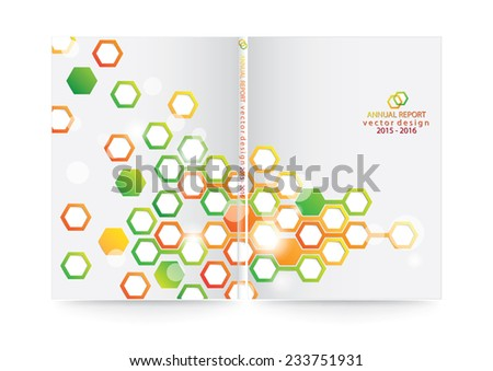 Abstract background polygon design