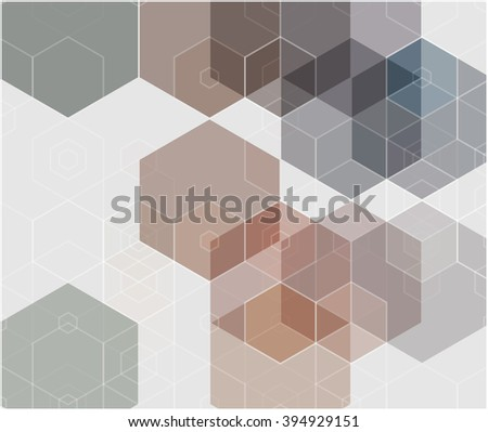abstract background polygons presentation of project design