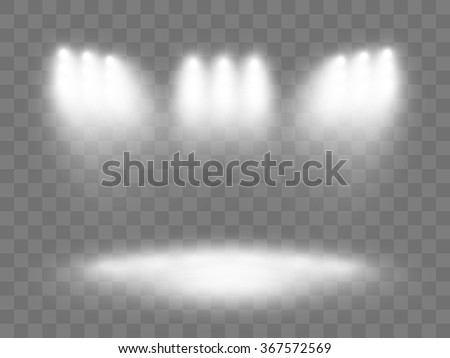 Abstract background. Scene. Light Effects. - stock vector