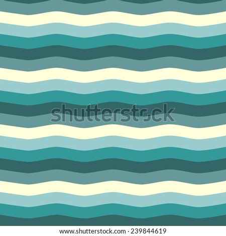 Abstract background. Seamless pattern. Sea waves.