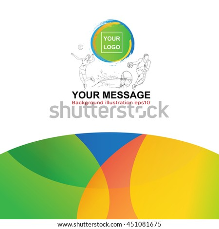 Abstract background ( sport theme ) .Vector eps 10 - stock vector