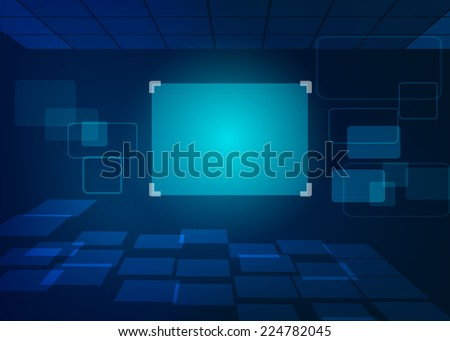 Abstract Background technology design vector Illustration