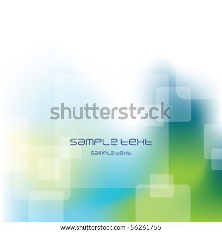 Abstract background template - Contemporary business texture Blue Green tone - stock vector