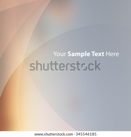 Abstract Background Template With Transparent Layers - stock vector