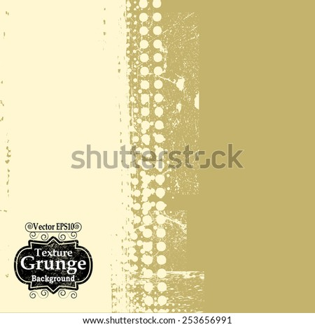 Abstract Background Texture . Grunge Texture. Grunge Background . Vintage Background . Dotted Texture . Retro Background . Vector Background.  - stock vector