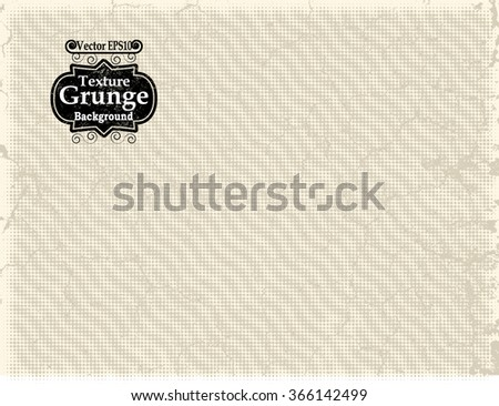 Abstract Background Texture . Grunge Texture. Grunge Background . Vintage Background . Paper Texture . Retro Background . Vector Background - stock vector
