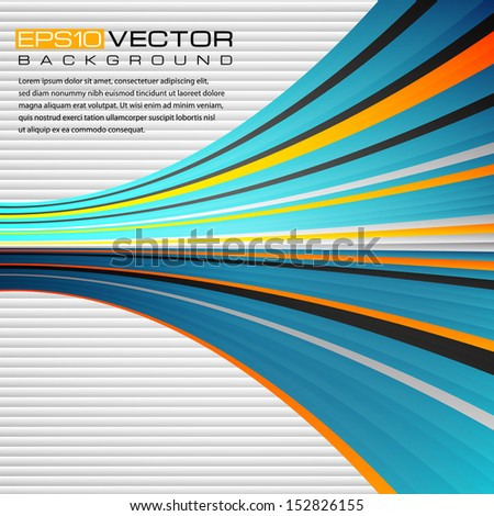 Abstract background.The illustration contains transparency and effects. EPS10 - stock vector