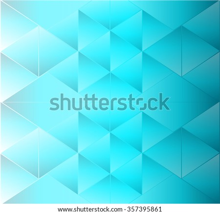 Abstract background triangle neon - stock vector