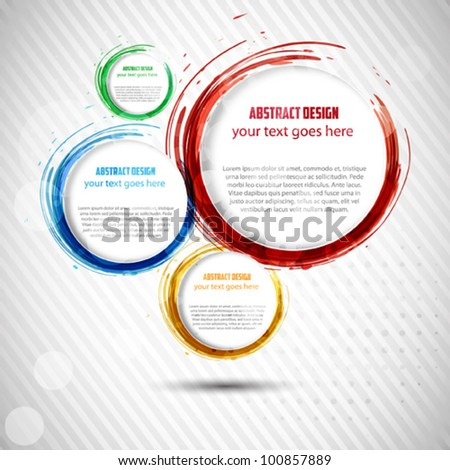 Abstract background .Vector - stock vector
