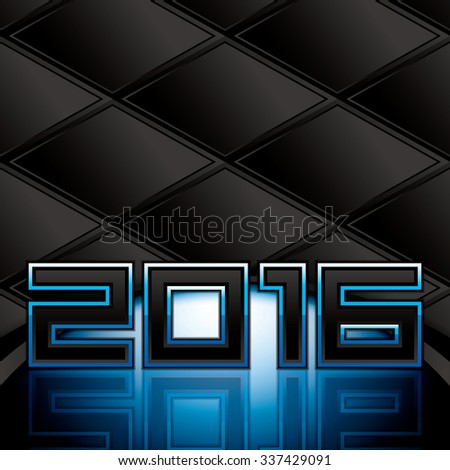 Abstract 2016 background.Vector - stock vector