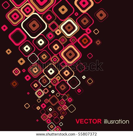 Abstract background. Vector. - stock vector