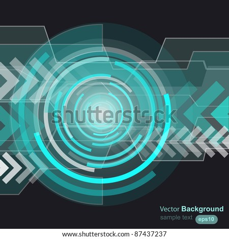 Abstract background, vector - stock vector