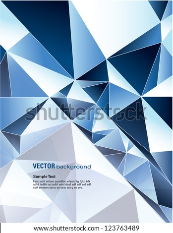 Abstract Background. Vector Design. - stock vector