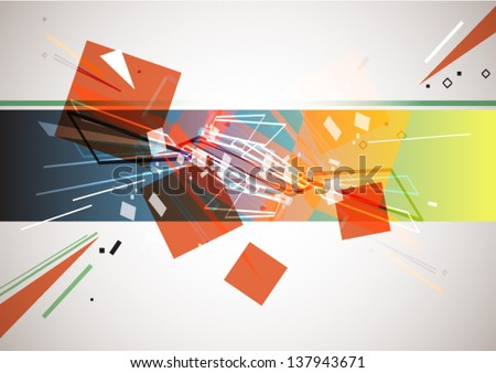 Abstract background, vector eps10 - stock vector