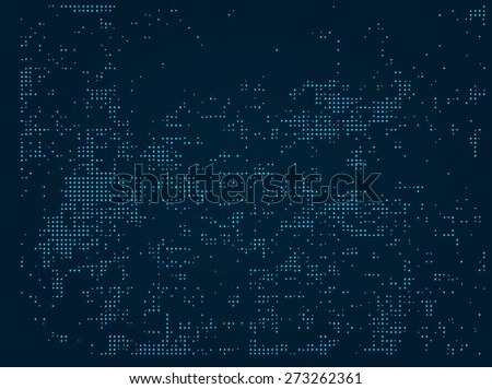Abstract background.  Vector Halftone Dots Background. Disco lights. Vector illustration. - stock vector