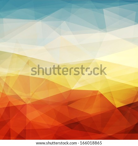 Abstract background warm texture design - vector illustration  - stock vector