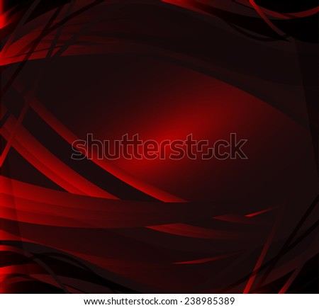 Abstract background wave dark red vector - stock vector