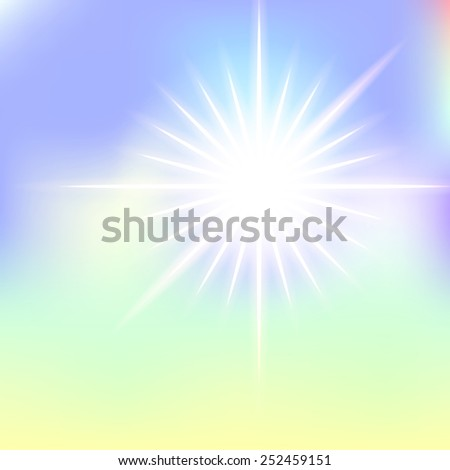 Abstract background with a star. Vector. 5 Vector.  - stock vector