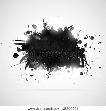Abstract Paintings With Black Background Abstract Background With Black