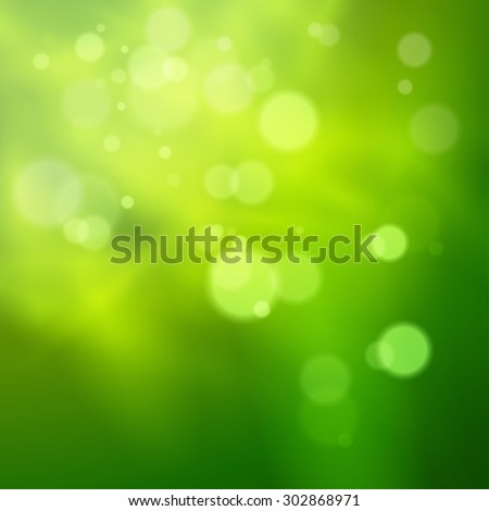 Abstract background with bokeh defocused lights, vector