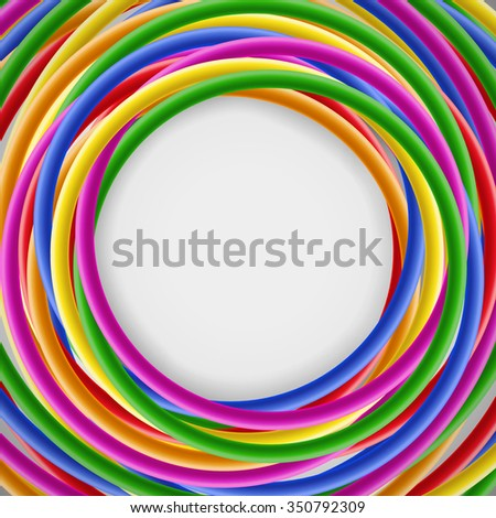 Abstract Colorful Frame Copy Space Computergenerated Stock