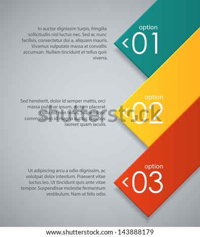 Abstract background with colored geometric shapes. EPS10 vector. - stock vector