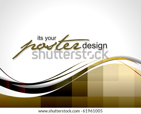 Abstract background with colorful design for text project used, vector illustration. - stock vector