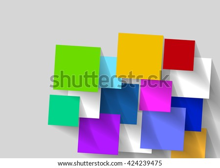 abstract background with colorful rhombus