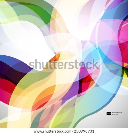 abstract  background with design elements. vector - stock vector