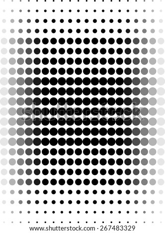 Abstract background with dots - stock vector