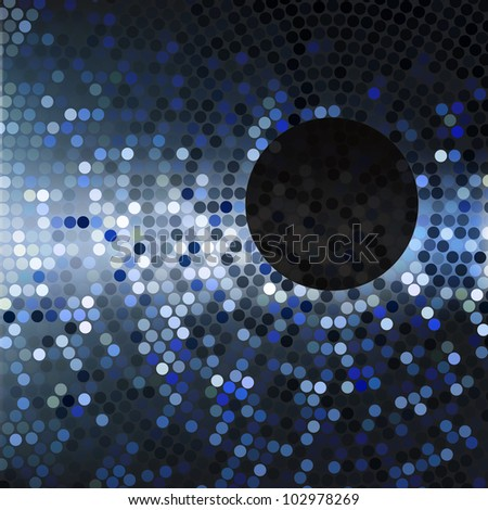 Abstract background with drops of water - stock vector