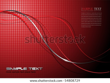 Abstract background, with fantasy lines, vector