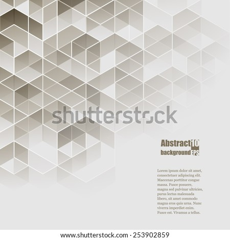 Abstract  background with geometric pattern. Eps10 Vector illustration - stock vector