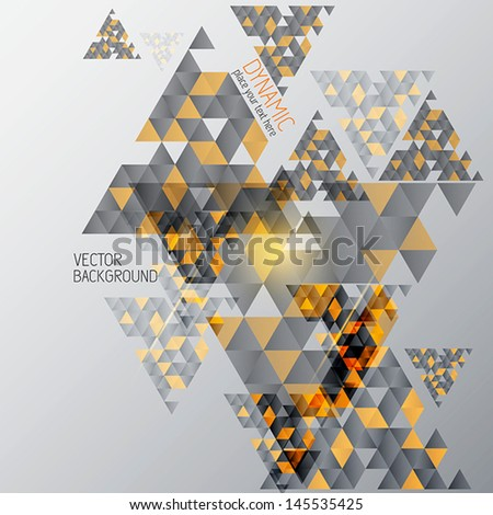 Abstract  Background With Geometric Shapes . Vector - stock vector