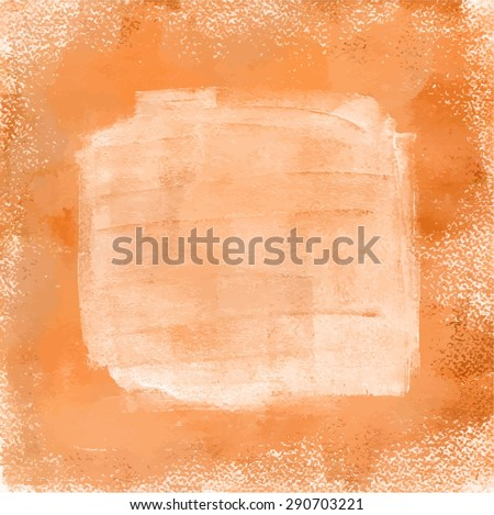 Abstract background with golden and white paint, with a place for text, scalable vector graphic - stock vector